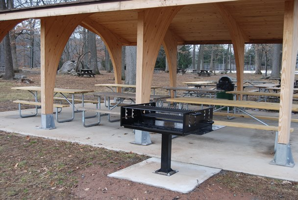 Morrow Pavilion grill