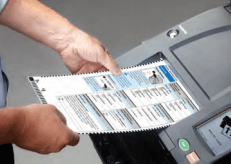 Dominion vote tabulator
