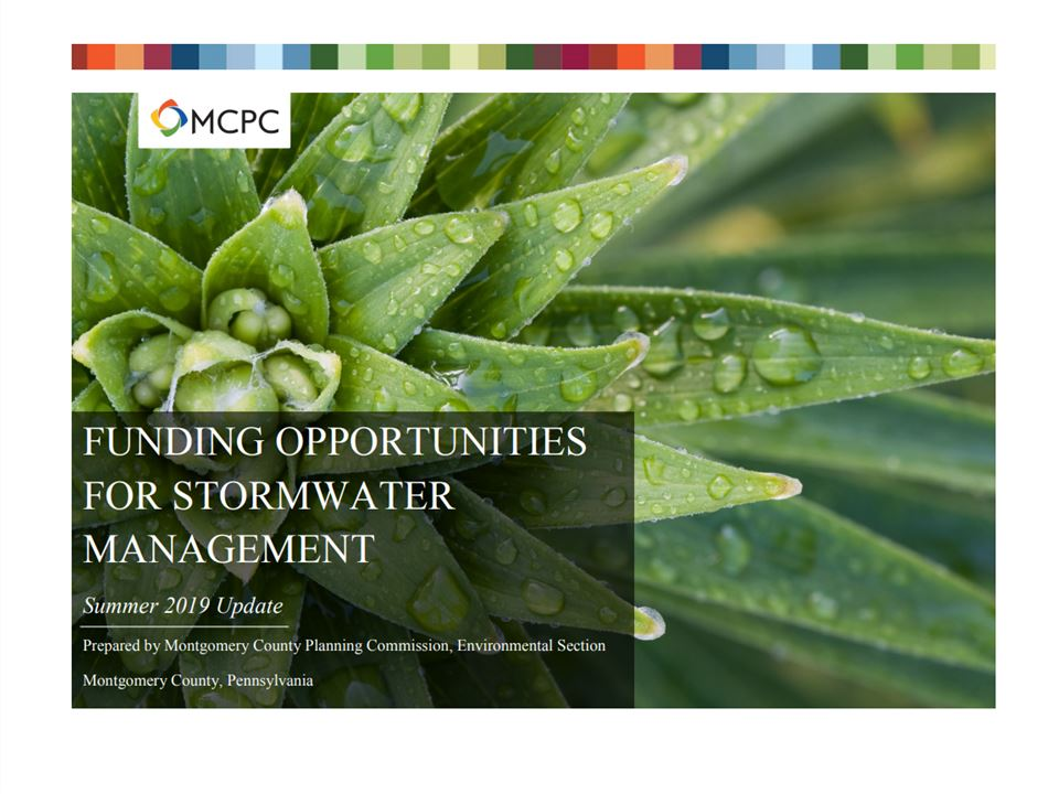 Funding Opportunities for Stormwater