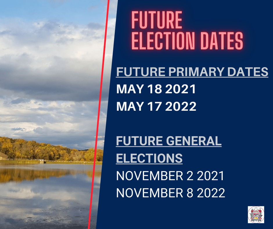 Future Election Dates Updated
