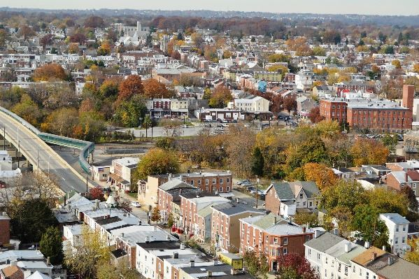 Norristown Aerial Shot