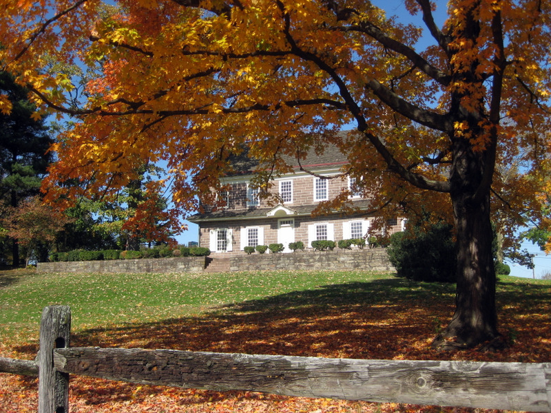 Pottsgrove Manor in Autumn
