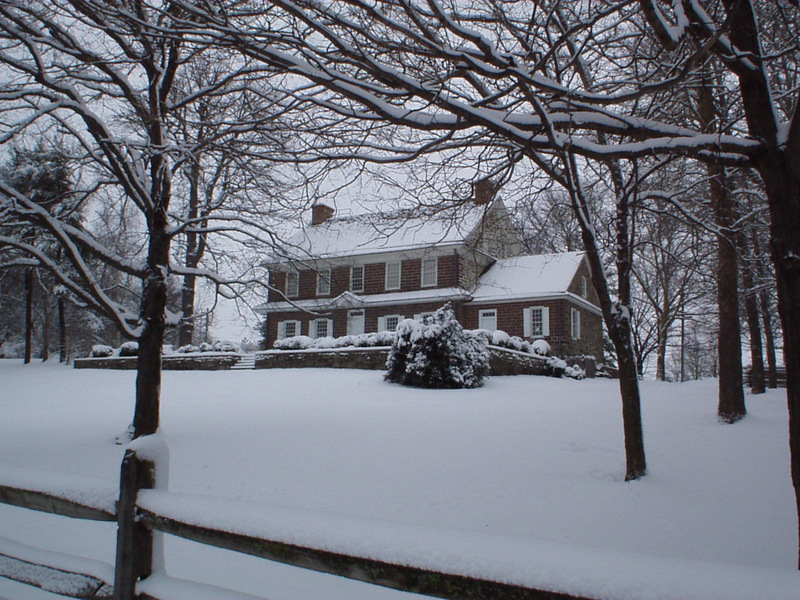 Pottsgrove Manor in Winter