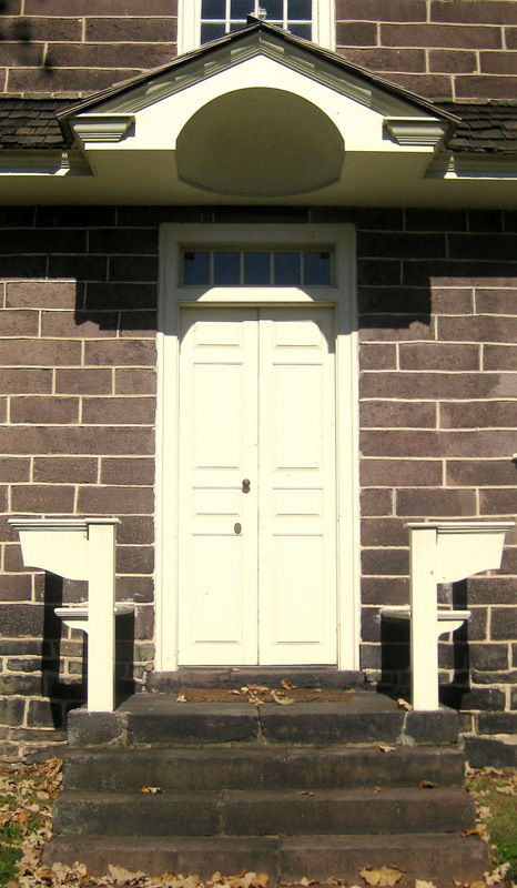 Pottsgrove Manor Front Door